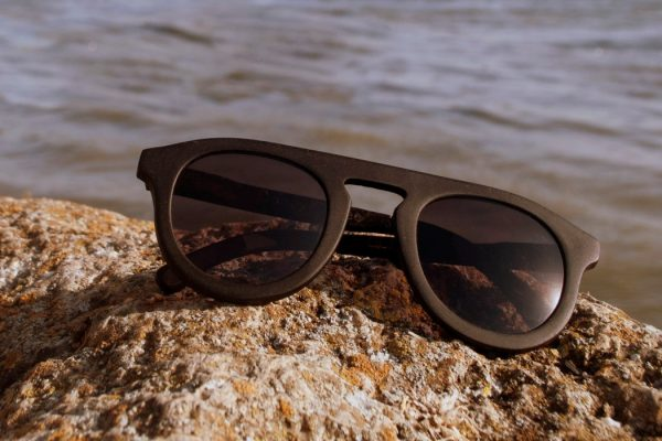 sunglasses from coffee grounds