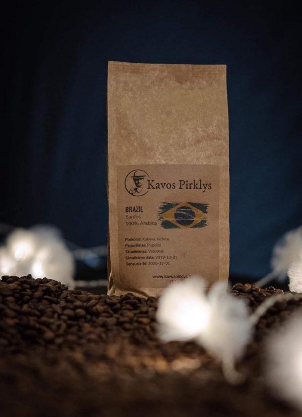 šviežiai skrudinta kava